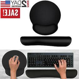 Memory Foam Keyboard Wrist Rest Pad Mouse Wrist Rest Support