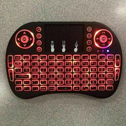 US Mini i8 Wireless Keyboard 2.4G with Touchpad for PC BACK