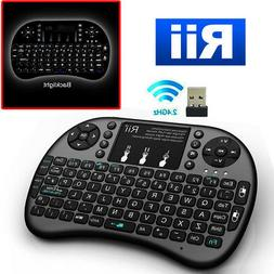 Hot selling!mini Keyboard with touchpad Rii i8+ for smart T