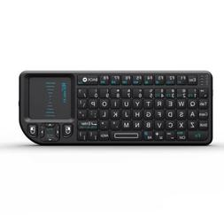 Rii Mini X1 RF Mini Wireless Keyboard Touchpad for PC Smart