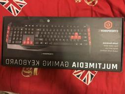 multimedia gaming keyboard and mouse