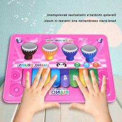 Music Toys for Baby Learning Musical Keyboard and Drum Set K