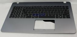 NEW FOR ASUS PALMREST TOP COVER W/KEYBOARD US SILVER X540LA-