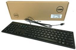 New Dell Genuine KB216-BK-US Multimedia USB Wired Keyboard B