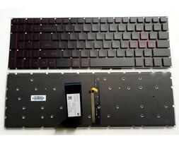 New Acer Nitro 5 AN515 AN515-51 N17C1 N17C7 Laptop Backlit K