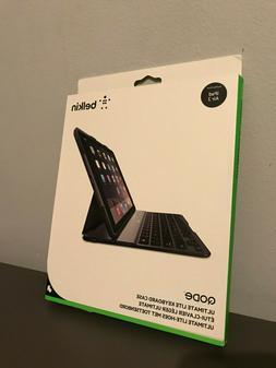 NEW Belkin Qode Ultimate Lite Keyboard Case Black Color for