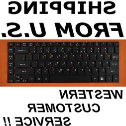 NEW US English Keyboard For Acer Aspire e5-411g ES1-431 ES1-