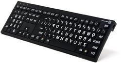 LogicKeyboard for XL Print NERO Windows PC Slim Line Compati