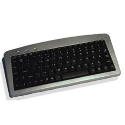 88key Ps2 Usb Mini Keyboard Silver/Black Low Profile Keys