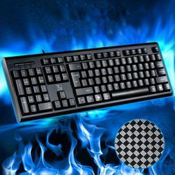 Q9 104 Keys Wired Keyboard Waterproof Gaming Keyboard for La