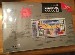 RARE LOOK Katt Games Master Keyboard NEW SEALED VINTAGE PC K