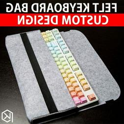 soft felt keyboard carrying case bag for planck preonic gh60