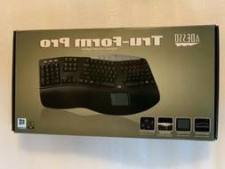 Adesso Tru-Form Pro 308 Contoured Ergonomic Keyboard w/ Buil