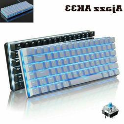 US Mechanical Gaming Keyboard LED Backlit USB-C 87 Keys Keyp