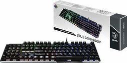 MSI Vigor GK50 Elite Kailh Blue GAMING Keyboard, Mechanical