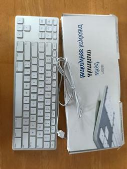 Matias Wired Aluminum Tenkeyless Keyboard for Mac Silver FK3