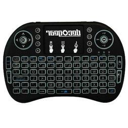 Deco Gear 2.4GHz Wireless Backlit Keyboard Smart Remote with