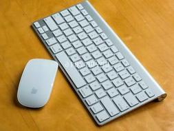Apple Wireless Bluetooth Keyboard A1314 + Magic Mouse A1296