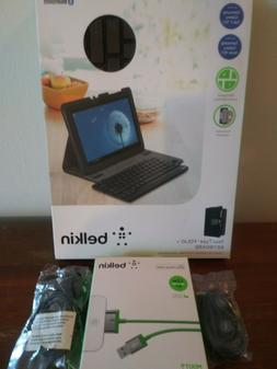 Belkin YourType Folio + Keyboard with charge sync cable and